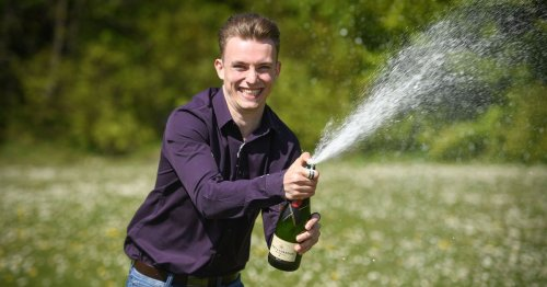 Student 'wins twice in one day' with £250k scratch card triumph and first date