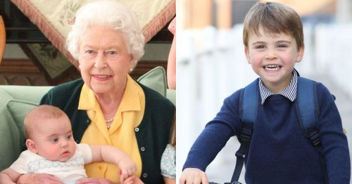 Queen stepped in to change Prince Louis's name and he nearly had different title