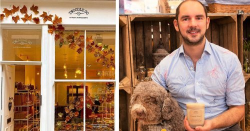 Dog almost dies from sniffing perfume - but incident gives owner business idea