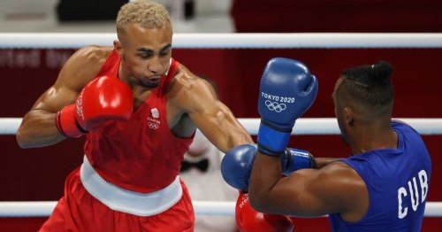 GB boxer Ben Whittaker criticised for podium antics and refusing to wear medal
