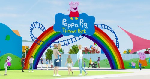 Peppa Pig is getting her very own theme park and it opens in April 2022