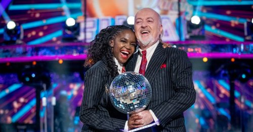 Strictly's Oti Mabuse 'lost for words' in emotional tribute to Bill Bailey