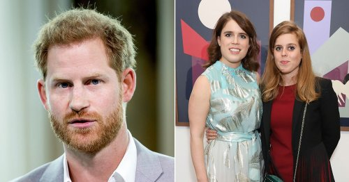 Beatrice and Eugenie sympathise with Harry as he was 'rarely heard' in family