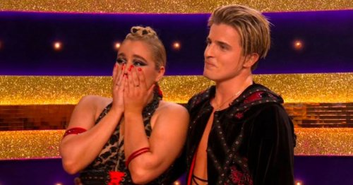 Strictly's Tilly and Nikita in tears after surprise appearance by her nan