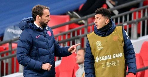 Jadon Sancho paying price at Euro 2020 after Gareth Southgate's U-turn