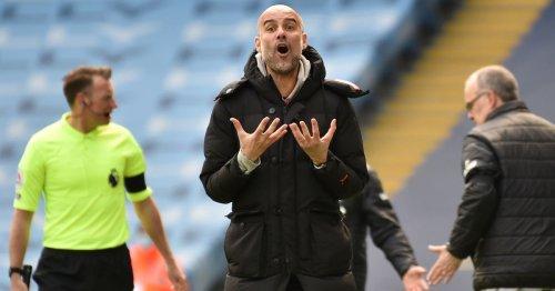Pep Guardiola's punt spectacularly backfires as 10-man Leeds stun Man City