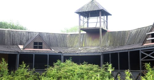 Haunting photos of abandoned Pleasure Island theme park days before demolition