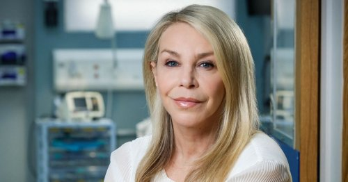 Casualty star Leslie Ash's health battle means she can't be alone with grandson