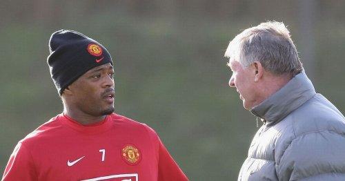 Sir Alex Ferguson's treatment of Patrice Evra that nearly backfired at Man Utd