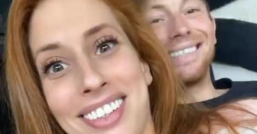 Stacey Solomon in stitches as Joe Swash messes up her request for new knickers
