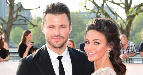 Mark Wright keeps long-distance wife Michelle Keegan close to his heart