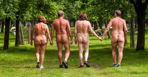 Nudism booms in lockdown as 'social isolation causes explosion in naked living'