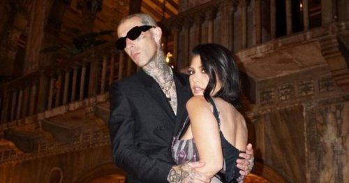 Kourtney Kardashian and Travis Barker engaged after less than one year of dating