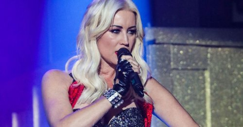 Denise van Outen says she has to give boyfriend dance at home to keep him happy