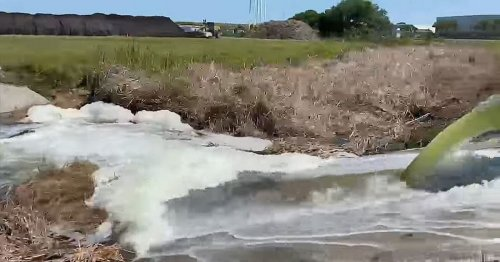 Toxic reservoir leaks sparking evacuation over fears of catastrophic flood