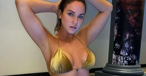 Vicky Pattison poses in bikini and 'almost feels human again' after lavish break