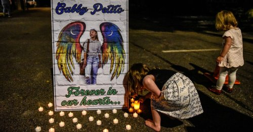Gabby Petito's hometown holds vigil ahead of funeral as partner remains missing