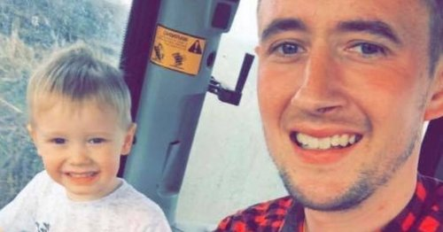 Toddler dies after being run over by a tractor while playing outside