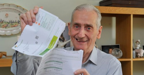 Pensioner wins battle with electricity company after being sent £22,000 bill