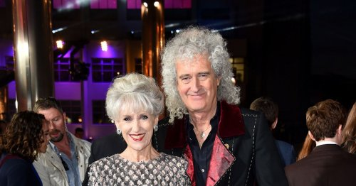 Brian May's wife on becoming 'cook, cleaner and carer' after his heart attack