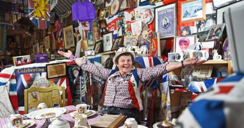 Record-breaking royal fanatic's memorabilia worth more than her £200,000 house