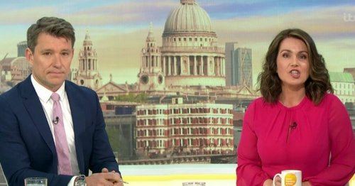 GMB confirm Susanna Reid is off all week and hint at Masked Dancer appearance