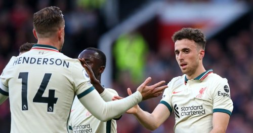 Liverpool ace Jota explains how they were able to dismantle Man Utd
