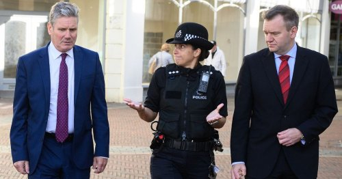 Labour pledge 'police hubs' in every neighbourhood to fight antisocial behaviour