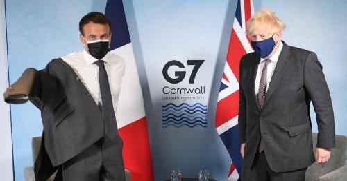 UK blasts France in Brexit sausage war as Macron 'says Belfast isn't part of UK'
