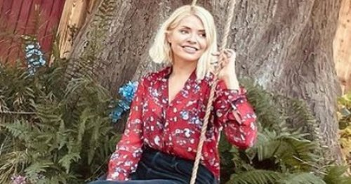 Holly Willoughby and daughter visit Winnie the Pooh's home on cute staycation
