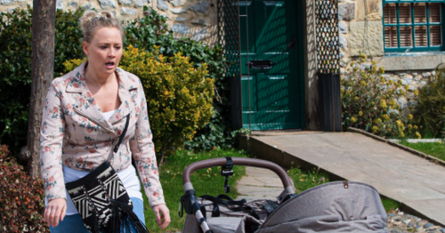 Emmerdale's Amy Walsh says Tracy 'crumbles' in sad post-natal depression scenes