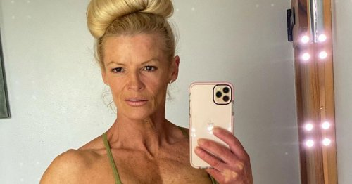 Gladiator's Lightning, 49, shows jaw-dropping muscles after becoming bodybuilder