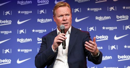 Ronald Koeman's longed for Barcelona dream unravels into 14-month nightmare