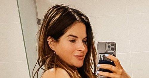 Binky Felstead 'embracing' figure as she shares pic taken day after giving birth