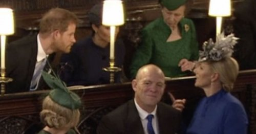 Zara Tindall's savage review of Eugenie's wedding confirmed by lip reader