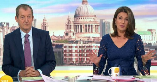 Susanna Reid and Alastair Campbell furiously slam UK government for GMB no-show