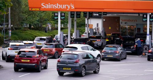 Thousands of desperate drivers queue for petrol as BP and Tesco confirm closures