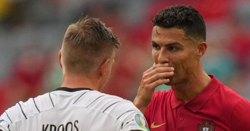 Kroos divulges details of Ronaldo chat following Portugal's Germany defeat