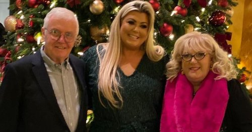 Gemma Collins' dad finally starts walking again as he recovers from Covid battle