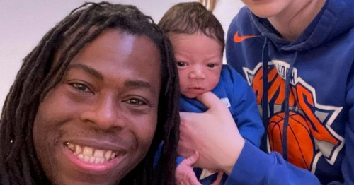 BBC presenter Ade Adepitan says people think his baby boy is a teddy