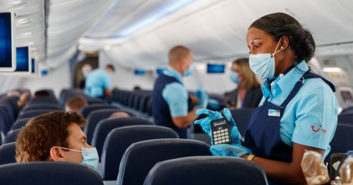 Flight attendant shares tips for a comfortable flight while wearing a mask