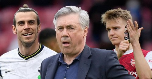 Ancelotti's Real Madrid return - and what it could mean for Bale and Odegaard