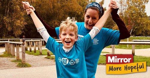 Brave boy who begged mum to chop leg off said I've done it, Mummy, I feel free'