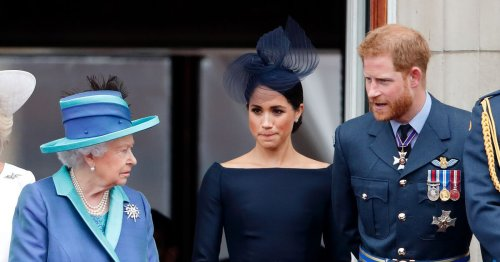 Queen would rather 'ignore' Harry and Meghan than remove titles, says expert