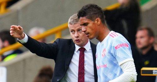 Raphael Varane's chat with Ole Gunnar Solskjaer that clinched Man Utd transfer