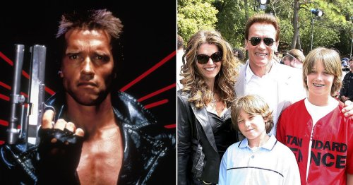 Arnie dubbed 'Squirminator' as he won't stop quoting own catchphrases to family