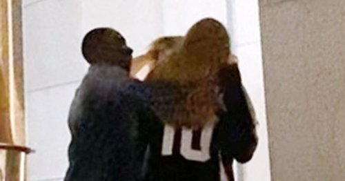 Adele flirts with new 'boyfriend' Rich Paul as they cuddle on romantic date