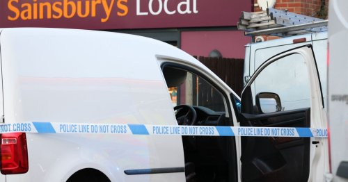 Man fighting for life after being stabbed 'through window of his vehicle'