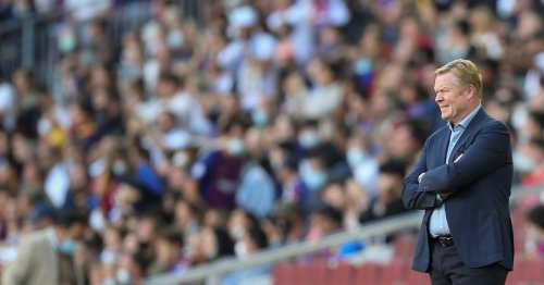 Barcelona fans make their feelings towards Koeman clear during Real Madrid loss