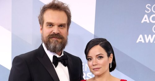 David Harbour admits being married to Lily Allen is a steep learning curve